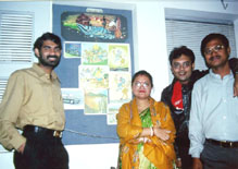 Sunetra with AmitSir and others at  Arena Multimedia, Bhubaneswar
