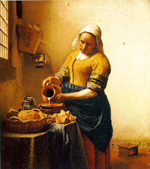 The Maid with the Milk Jug - Vermeer